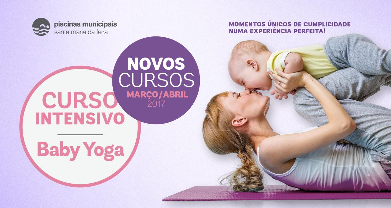 Novos cursos Baby Yoga